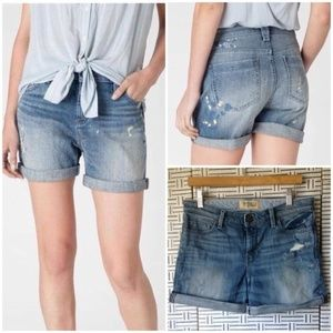 Holding Horses Gable Painter Boyfriend Denim Short